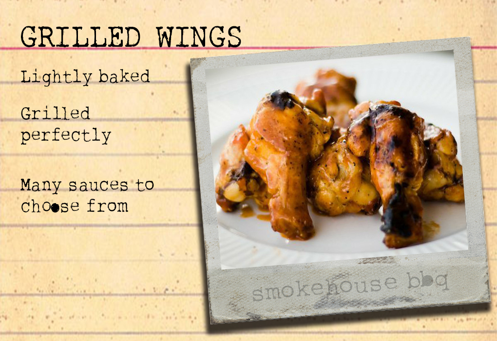 Chicken Wings Recipe Card